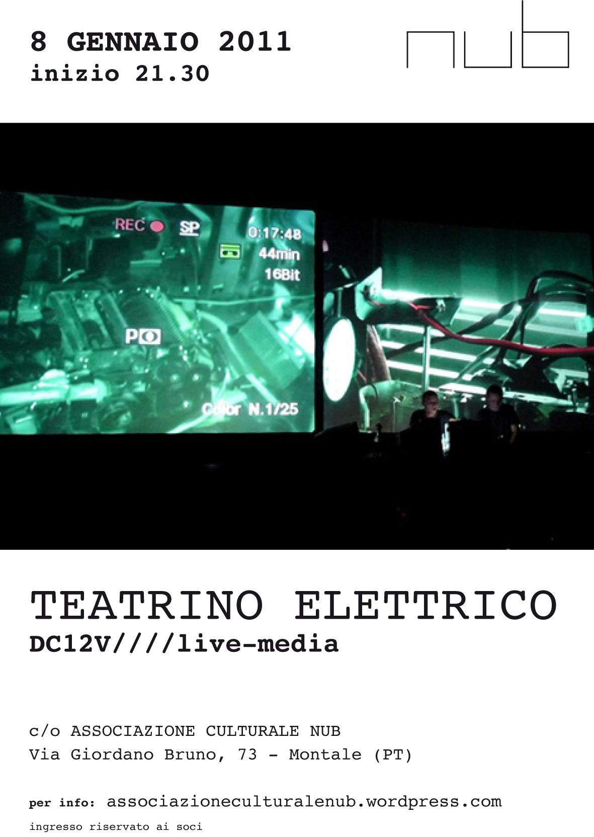 TEATRINO ELETTRICO | 08.01.2011