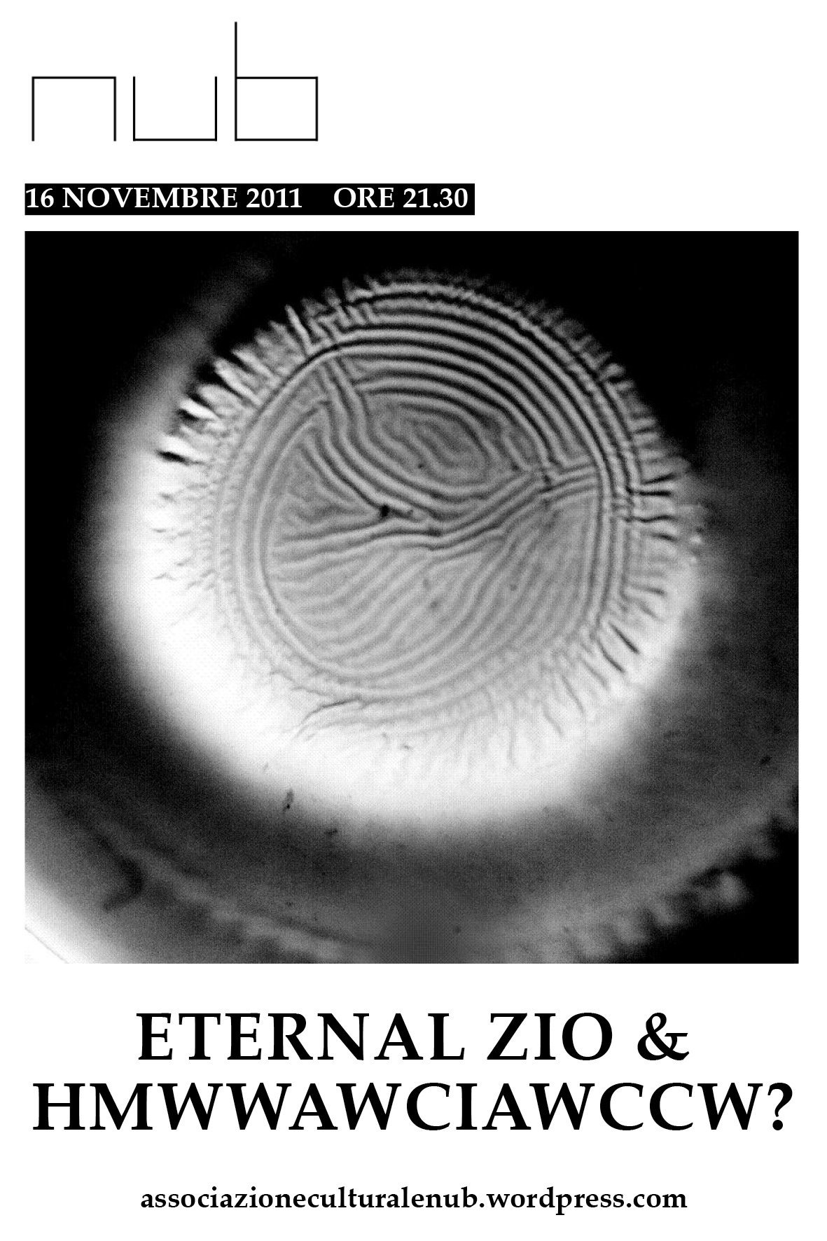 ETERNAL ZIO / HMWWAWCIAWCCW? | 16.11.2011