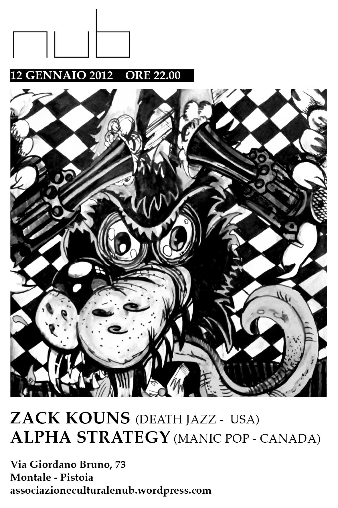 ZACK KOUNS / ALPHA STRATEGY | 12.01.2012