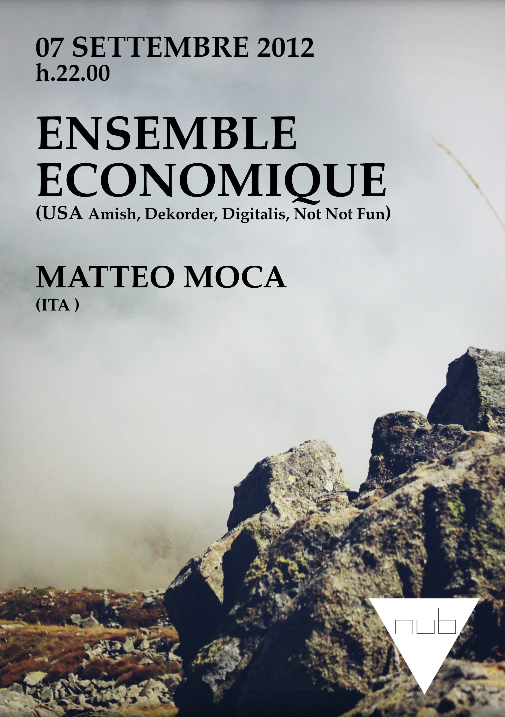 ENSEMBLE ECONOMIQUE | 07.09.2012