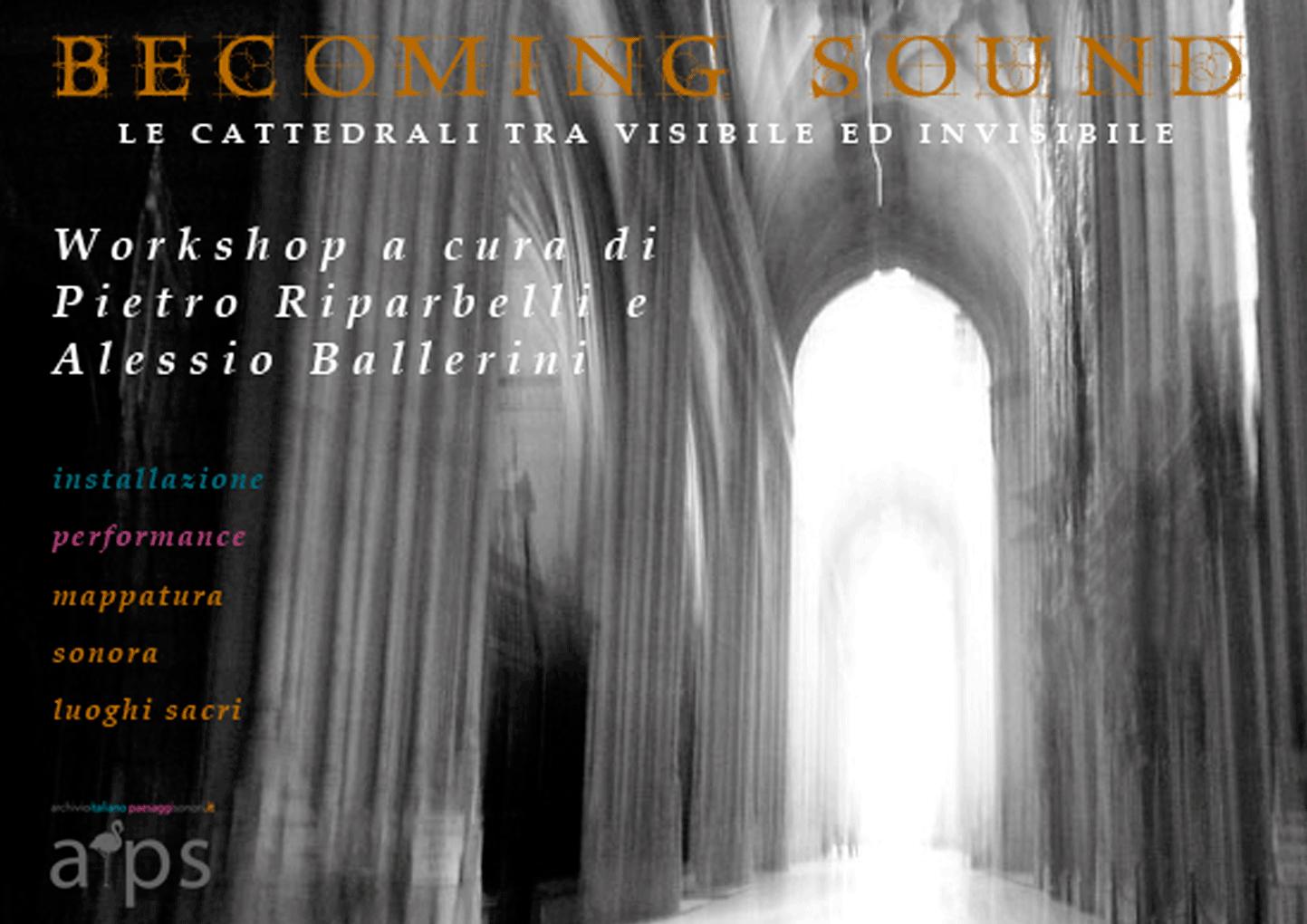 BECOMING SOUND WORKSHOP | 26/27.04.2014
